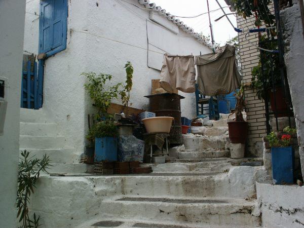 Samos, typisch Grieks steegje
