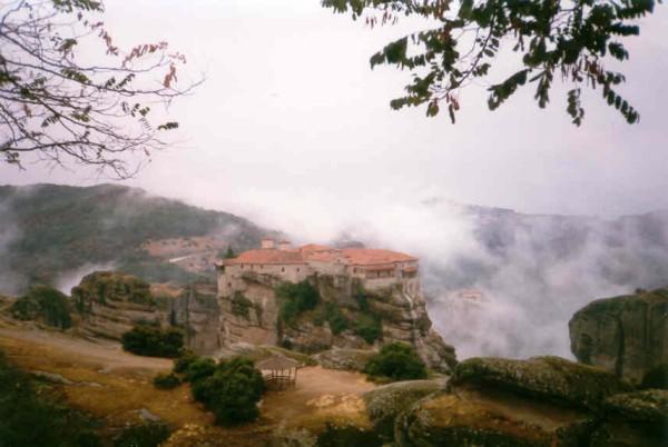 Meteora, deze foto werd gemaakt door Gerard v.d. Pluym