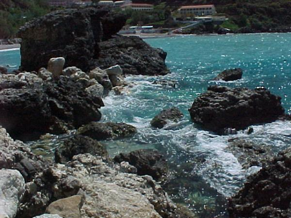 Ermones op Kerkyra (Corfu). Foto Theo Henderichs uit Goes