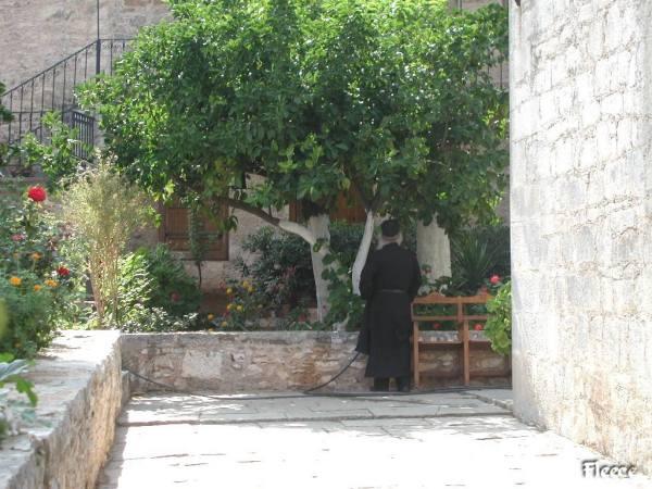 Klooster op Kreta. Foto gemaakt door Fabienne