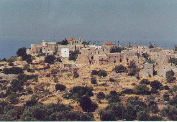 Chios, oud dorpje. Foto: Adri Zellenrath