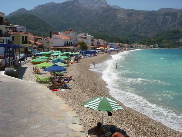 Strand Kokkari (Samos) - Foto W. Morsink