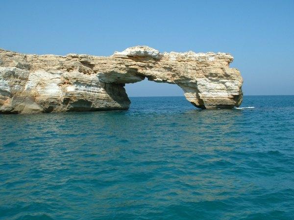 Kreta mooie rotsformatie. Foto gemaakt door Karin