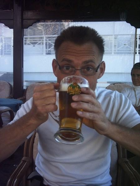 Karpathos Mythos bier - Foto: Paul en Mandy