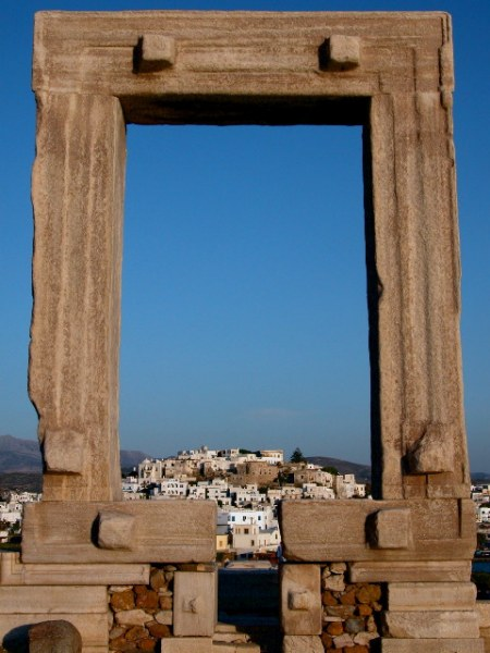 Apollotempel op Naxos. Foto: Peter Paul de Rijcker.