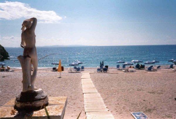 Strand Syvota - Foto van Ben Vegter