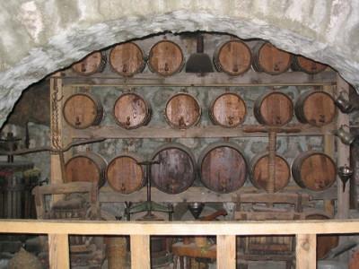 Wijnvaten in Griekenland