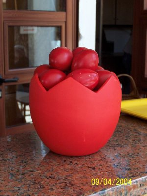 Rode eieren