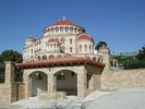 Kerk van Agios Nektarios op Aegina - Foto van webgirl