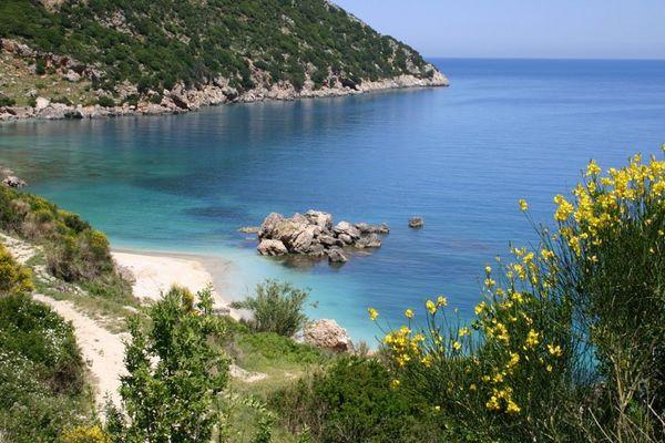 Most beautiful beach in Greece, Voutibeach - Foto van Alexander