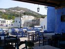GriechenlandWeb the inside of a kafenion on the squire of Skala Patmos - Foto kouzolos