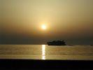 Sfeervol vertrek van Paros - Foto van rob van der most