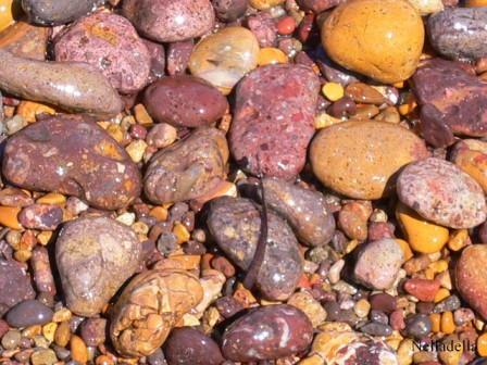 foto Stones at the beach of Patmos