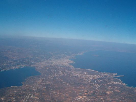 CHANIA SEEN FROM THE SKY - Foto van AGAPI