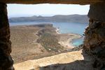 View from fort Gramvoussa - Foto van helmpie