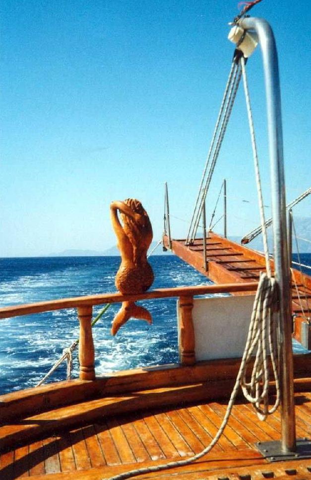 Mermaid on board