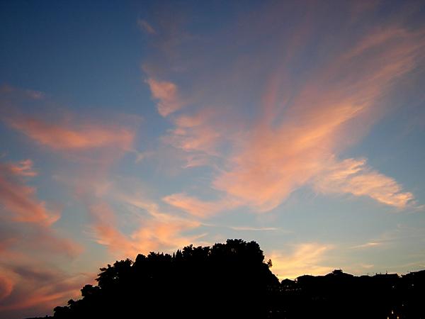 foto evening sky.