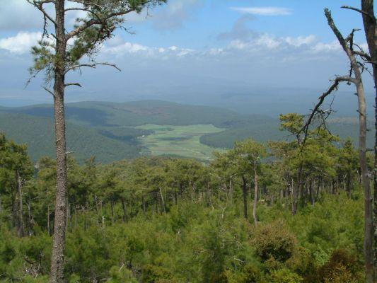 View from mount Olympos (Agiassos) - Foto van adrianoula