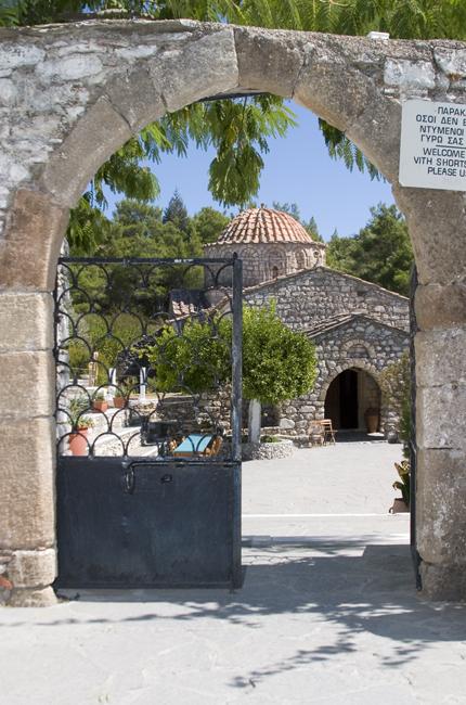 foto Een mooi klooster