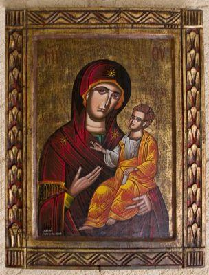 Icoon in de Grieks-orthodoxe kerk