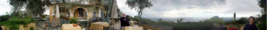 3d panorama in corfu - Foto van meesteric