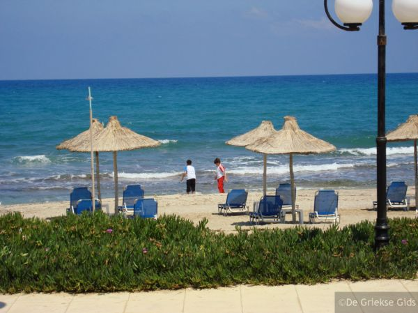 Strand Analipsis Kreta - Foto van De Griekse Gids