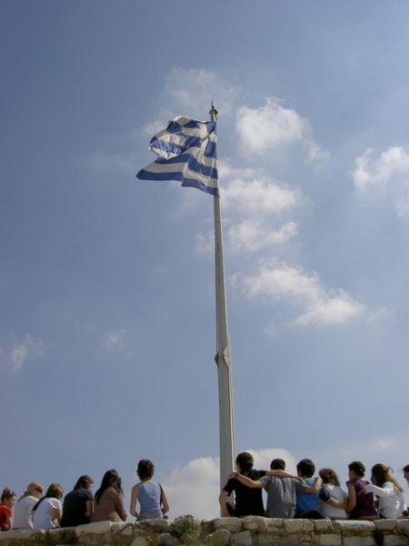 onder de vlag