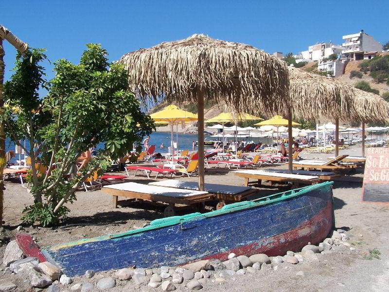 Strand van Agia Galini