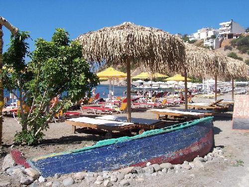 Strand van Agia Galini - Foto van Wendy