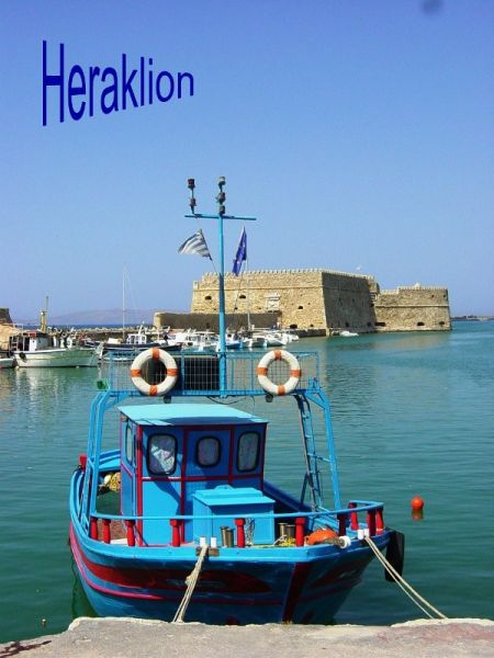 Heraklion, haven - Kreta - Foto van Welleman