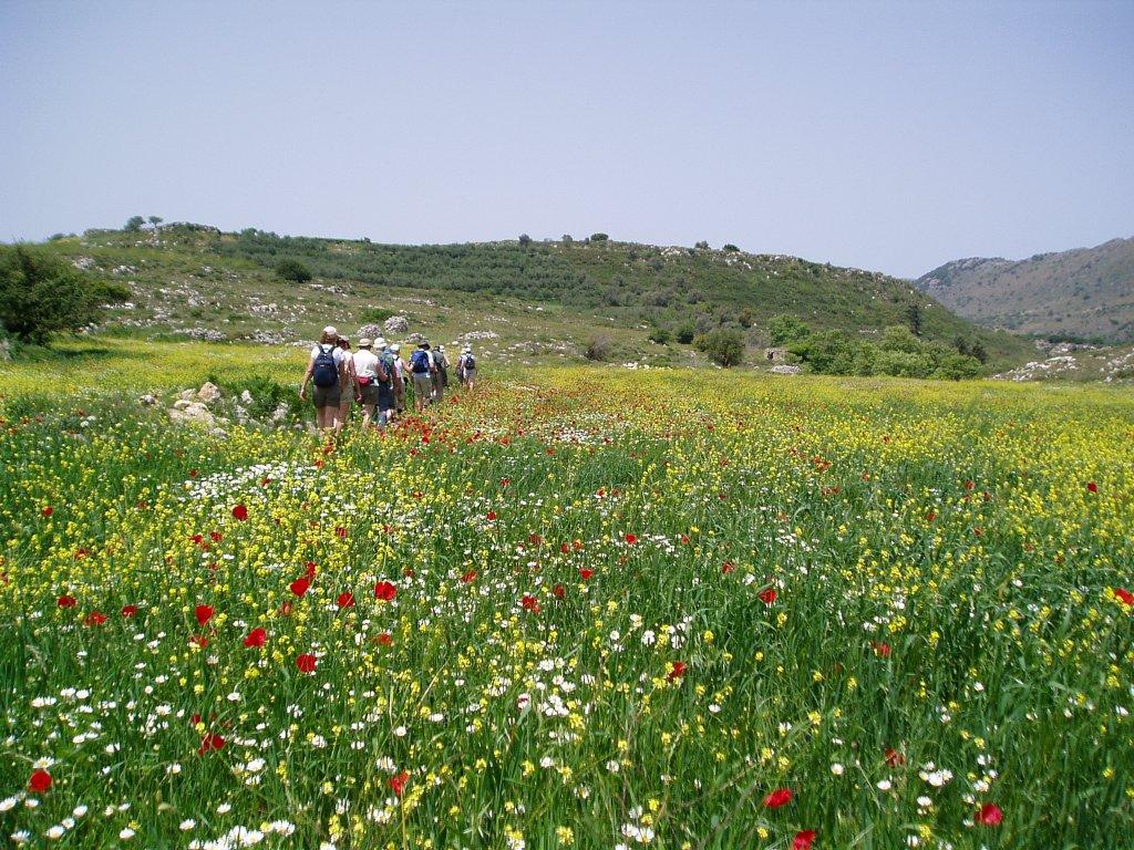 voorjaarswandeling in de omgeving van Rethymnon