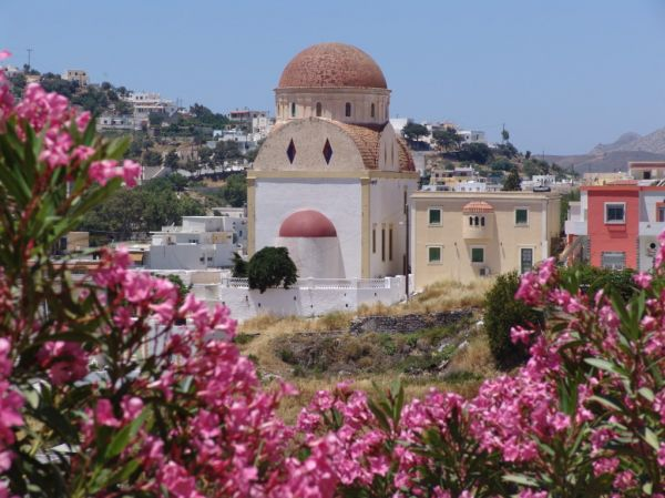 Kerk op Leros - Foto van Van Velzen