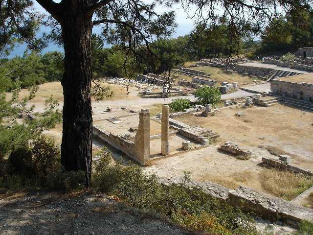 foto Kamiros-Opgravingen