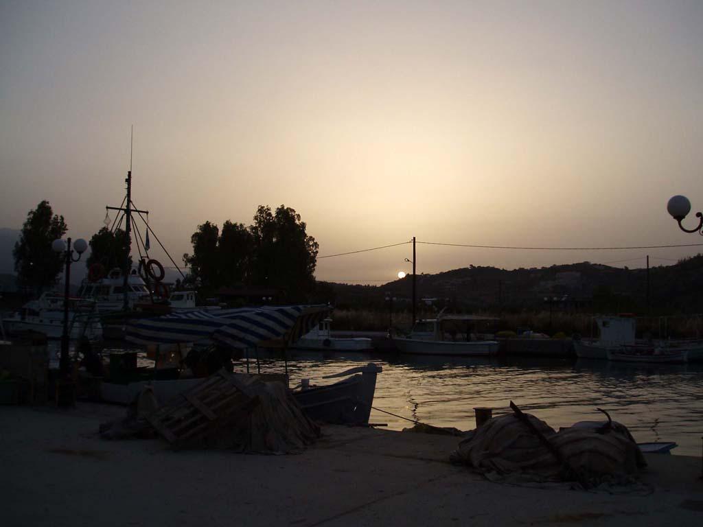foto zonsondergang in Georgioupoli
