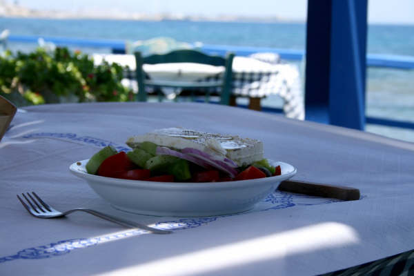 Griekse salade - Foto van Ron Wenders