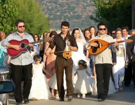 Griekse bruiloft