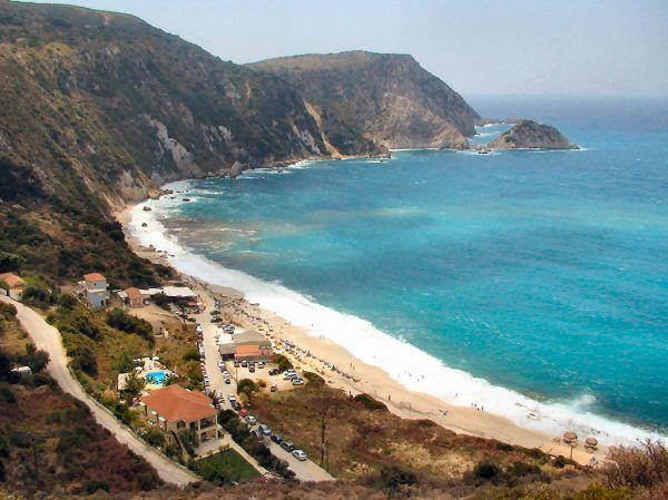Petani beach Kefalonia - Foto van cmbkoning