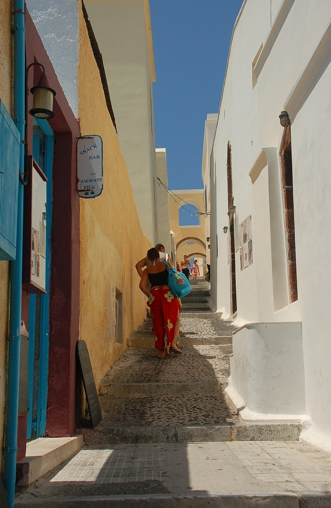 Steegje in Fira