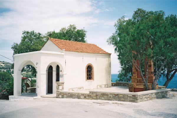 Chios Agia Fotini Kapelletje Aan Strand - Foto von Doortje van Lieshout