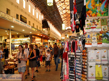 De overdekte markt foto 2  | Chania stad | Kreta - Foto van https://www.grieksegids.nl/fotos/eiland-kreta/fotos-mid/chania-kreta/chania-stad-104.jpg