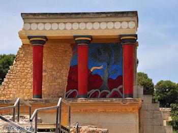 Knossos Kreta   Griekenland 18 - Foto van De Griekse Gids