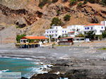 GriechenlandWeb.de Aussicht über het Strandt van Agia Roumeli | Chania Kreta | Griechenland - Foto GriechenlandWeb.de