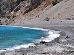 Het zand- kiezelstrand van Agia Roumeli foto 2 | Chania Kreta | Griekenland - Foto van De Griekse Gids