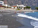 Het zand- kiezelstrand van Agia Roumeli foto 4 | Chania Kreta | Griekenland - Foto van De Griekse Gids