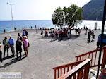 Wachtend op de boot die ons van Agia Roumeli naar Chora Sfakion zal brengen | Chania Kreta | Griekenland - Foto van De Griekse Gids
