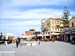 GriechenlandWeb.de Het Venizelos Plein aan de akti Kountourioti  | Chania Stadt | Kreta - Foto GriechenlandWeb.de