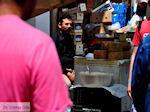 Kaas verkopen op de markt  | Chania stad | Kreta - Foto van De Griekse Gids