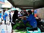 Groenten verkopen op de markt  | Chania stad | Kreta - Foto van De Griekse Gids