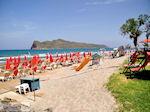 Het mooie strand van Agia Marina  | Chania | Kreta - Foto van De Griekse Gids