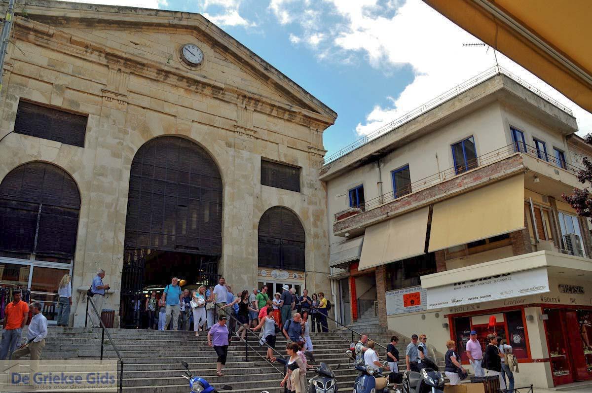 foto Ingang overdekte markt  | Chania stad | Kreta